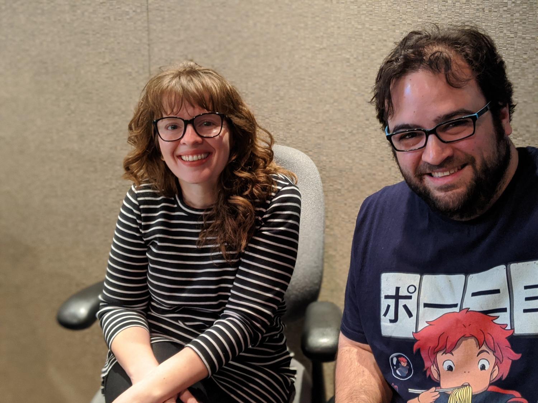 Dominic Armato Amato and Lauren Cusimano