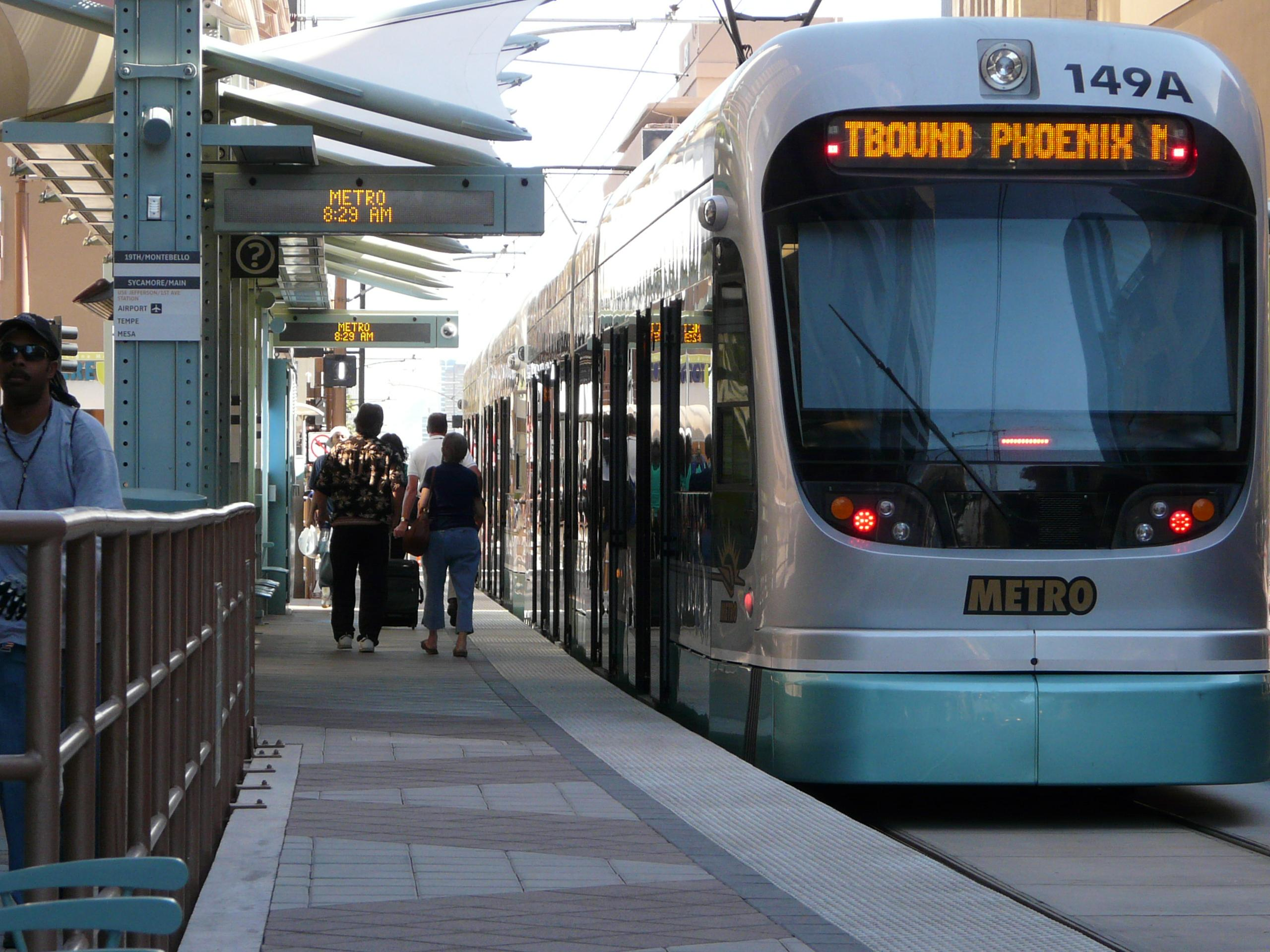 Q&AZ: Why Can't Riders Use A Light Rail Ticket To Switch ...