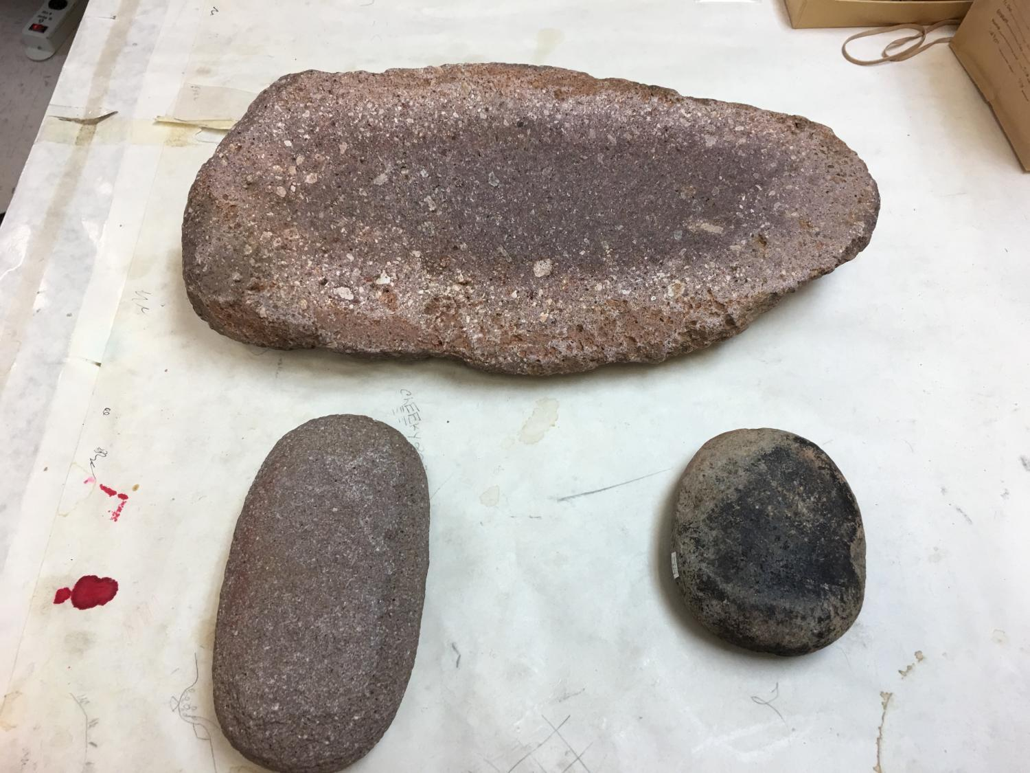 Metate and manos