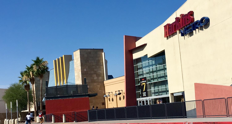 exterior of harkins theatre