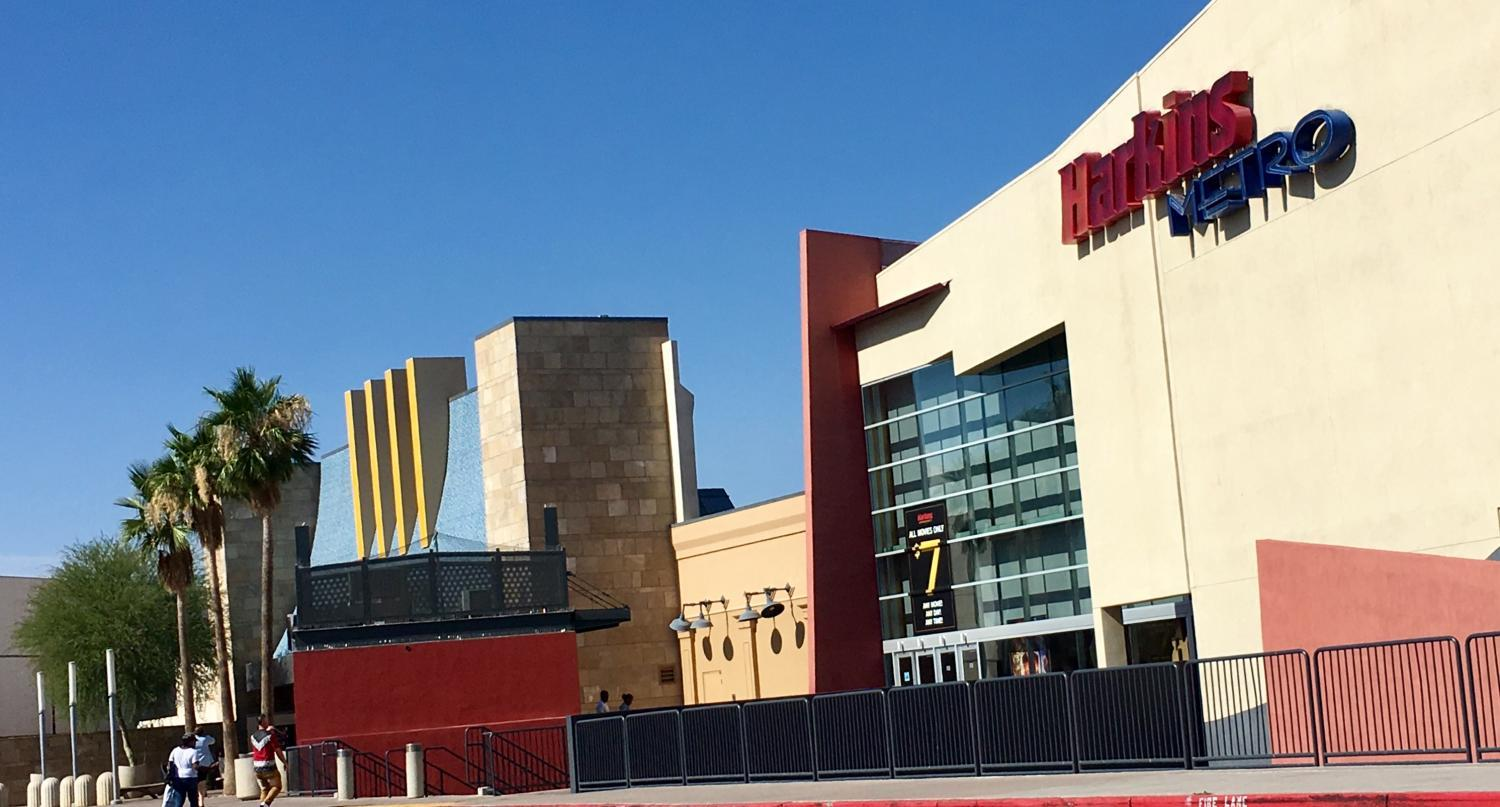 exterior of harkins theatre