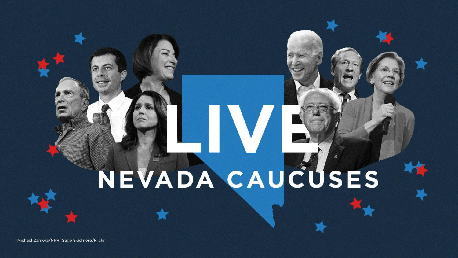 Nevada candidate collage
