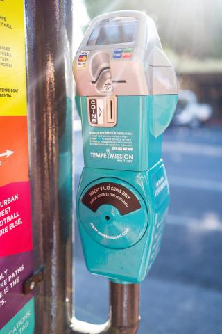Tempe parking meters for homeless