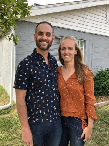 Jay Gurcsik and Adrienne Knauer