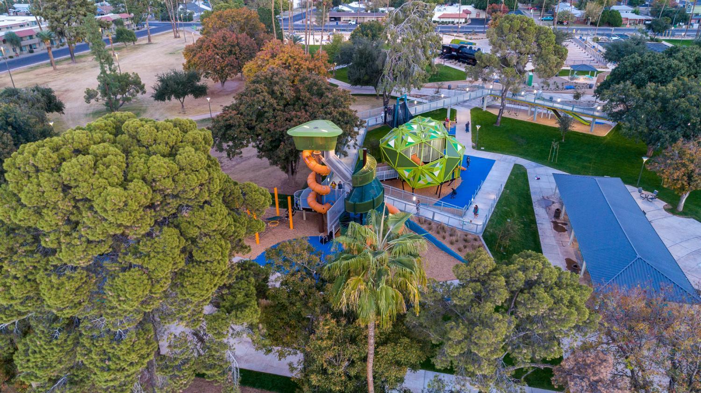 Pioneer Park in Mesa.