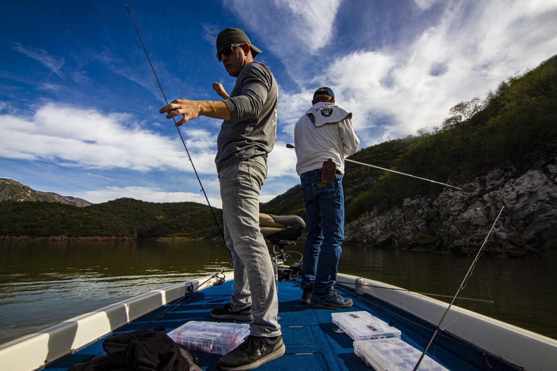 Sonoran Bass Fishing