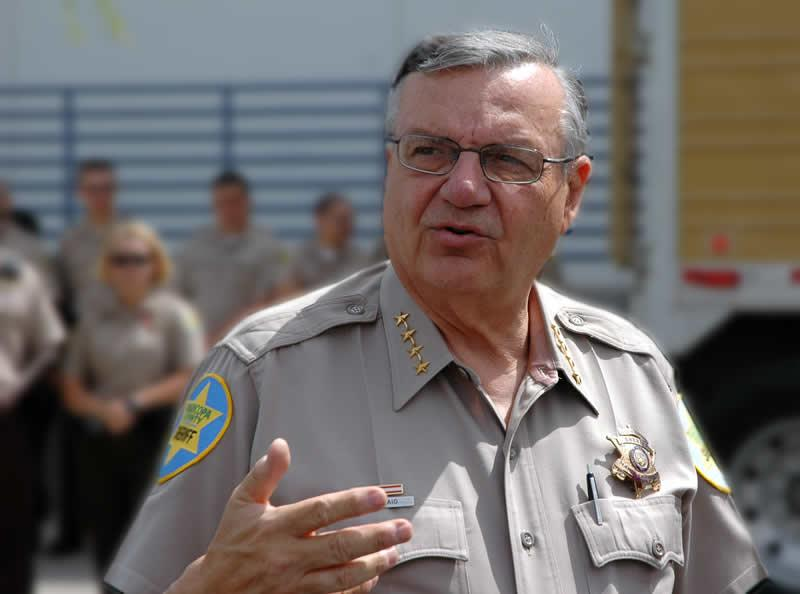Former Sheriff Joe Arpaio