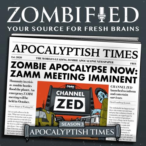 Zombified podcast logo