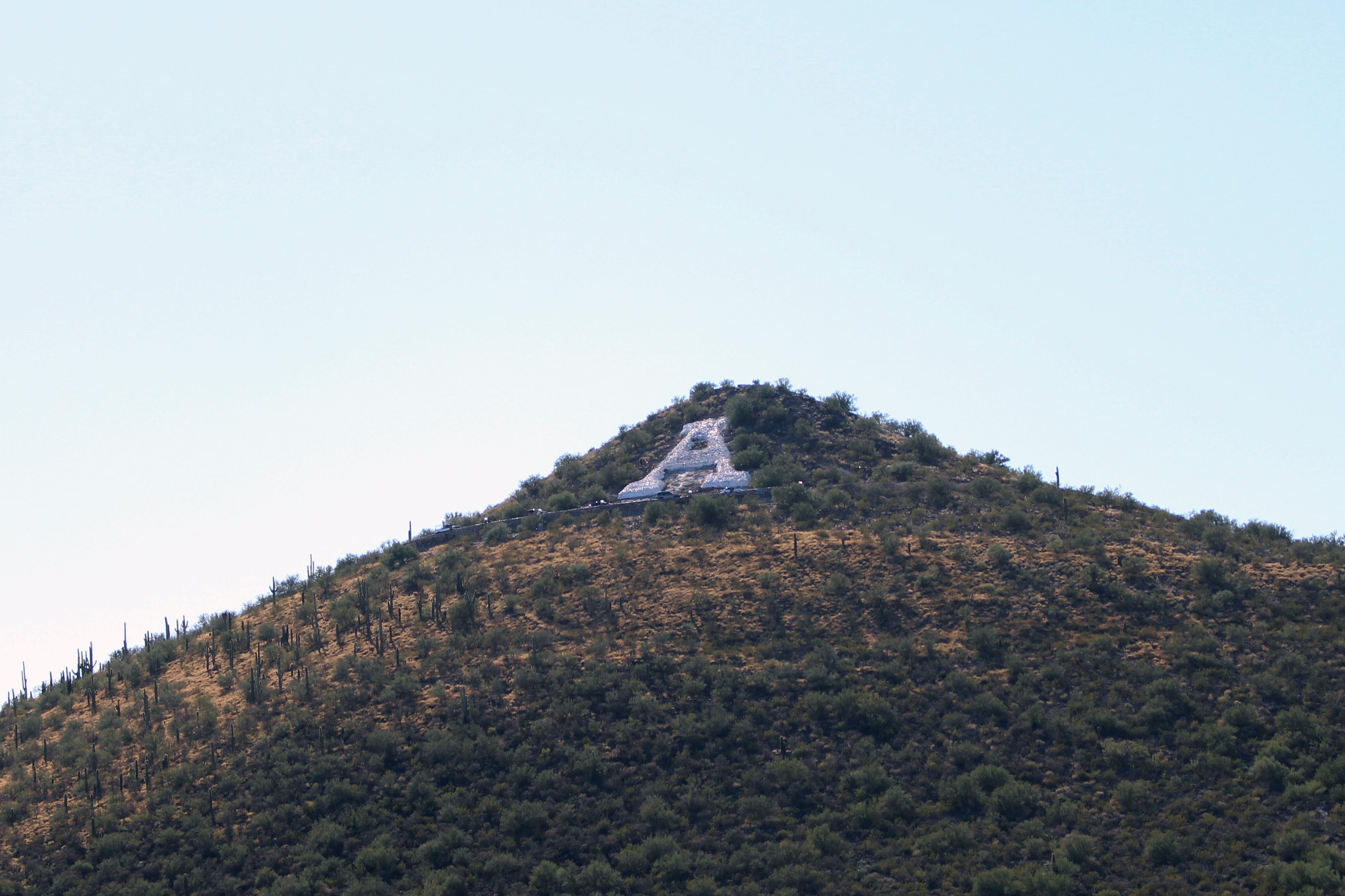 Sentinent Peak in Tucson