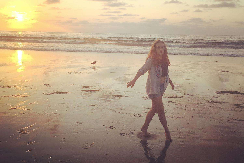 Amy Silverman San Diego beach