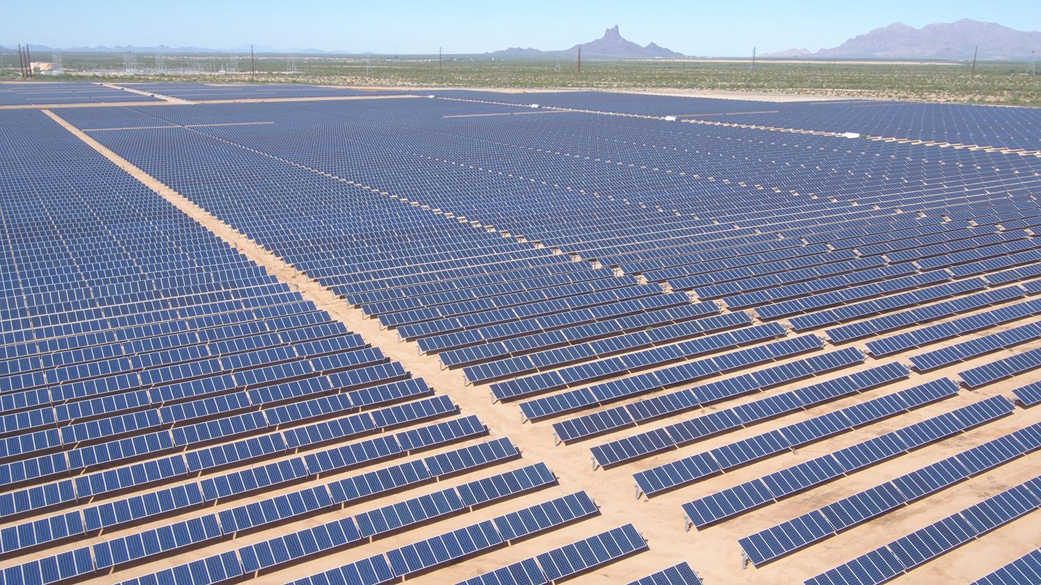 APS Red Rock Solar Plant
