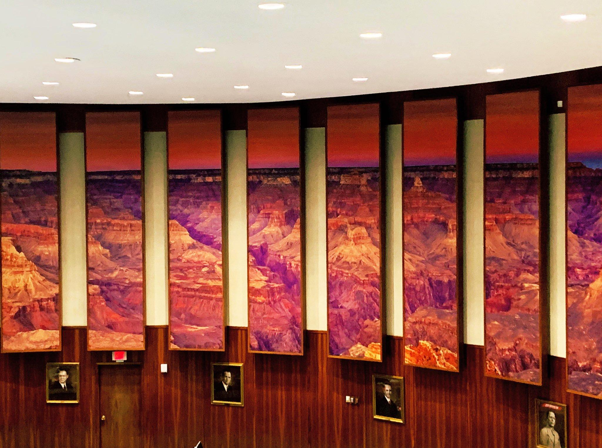 Grand Canyon mural Arizona House of Representatives