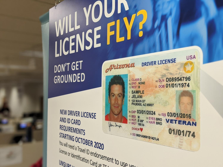 Arizona travel ID poster