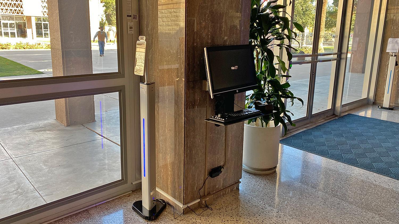 Arizona Senate Request to Speak computer terminal