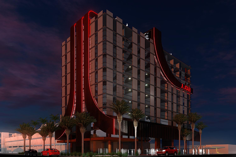 Atari Hotel Phoenix rendering
