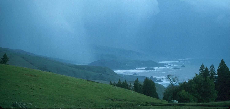 Atmospheric river Bodega Bay