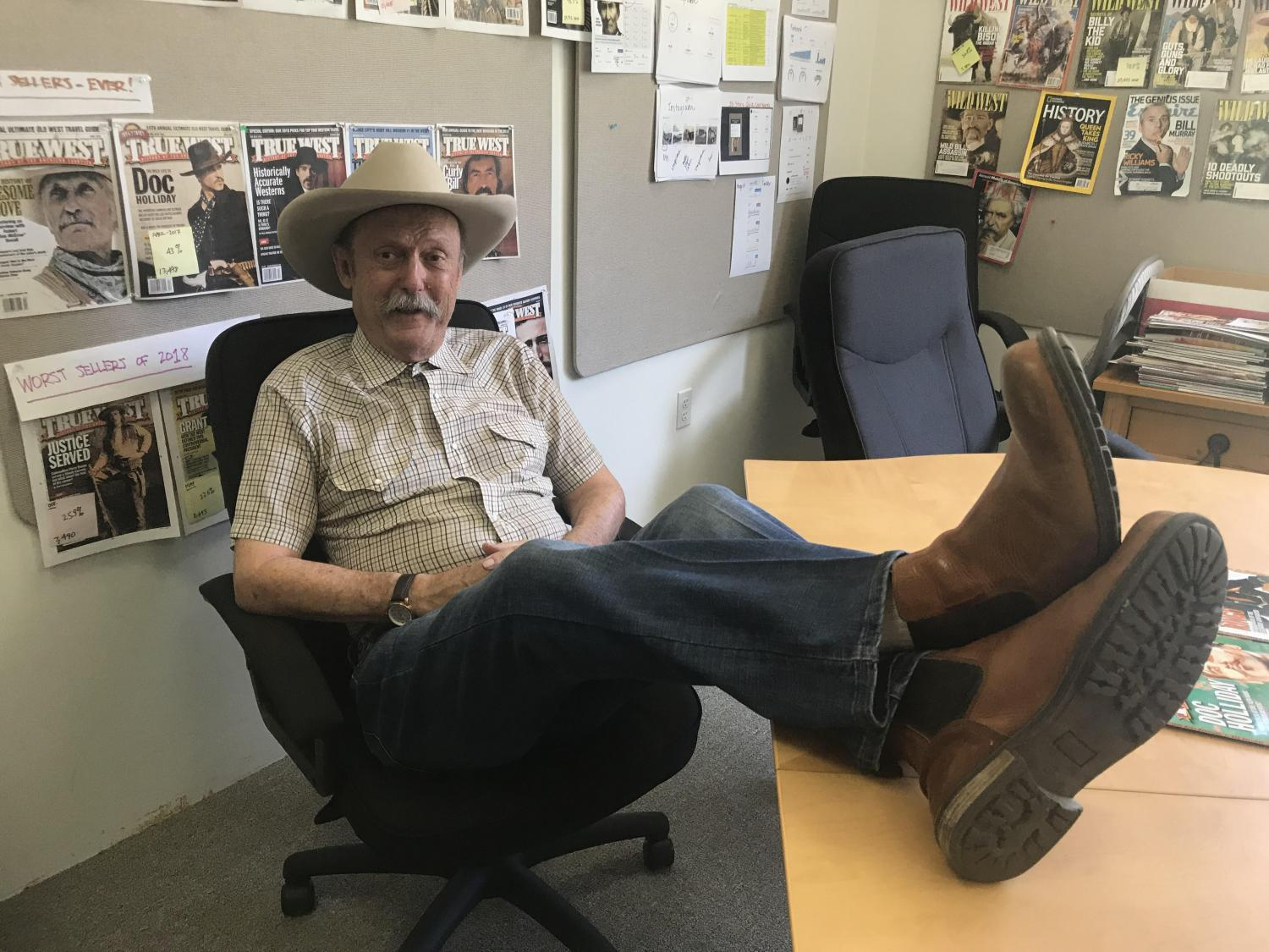 Bob Boze Bell is the executive editor of True West magazine.