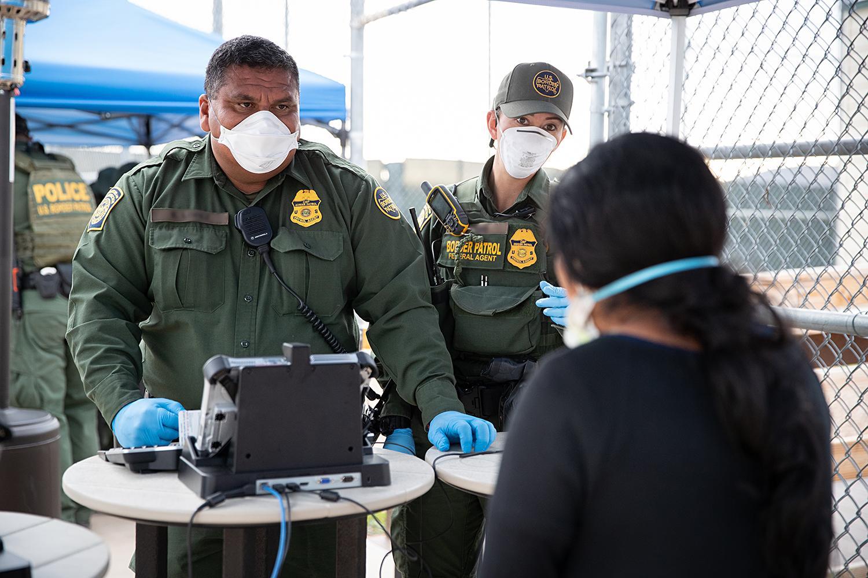Border Patrol coronavirus precautions