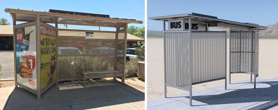 phoenix bus shelters