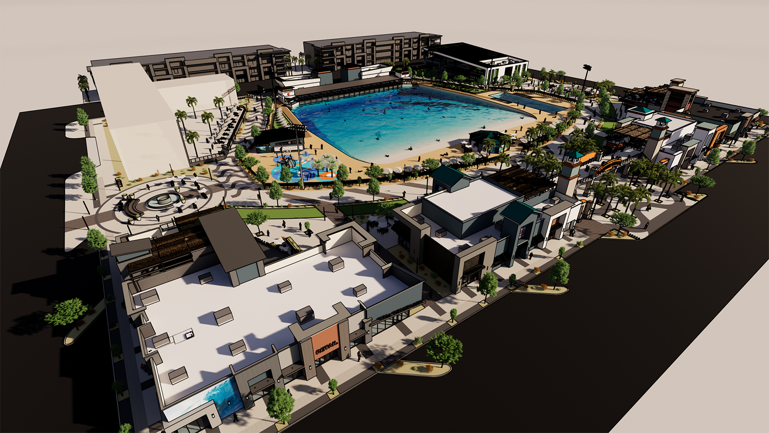 Cannon Beach Mesa rendering
