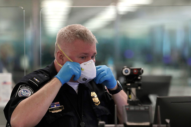 CBP Officer Respirator