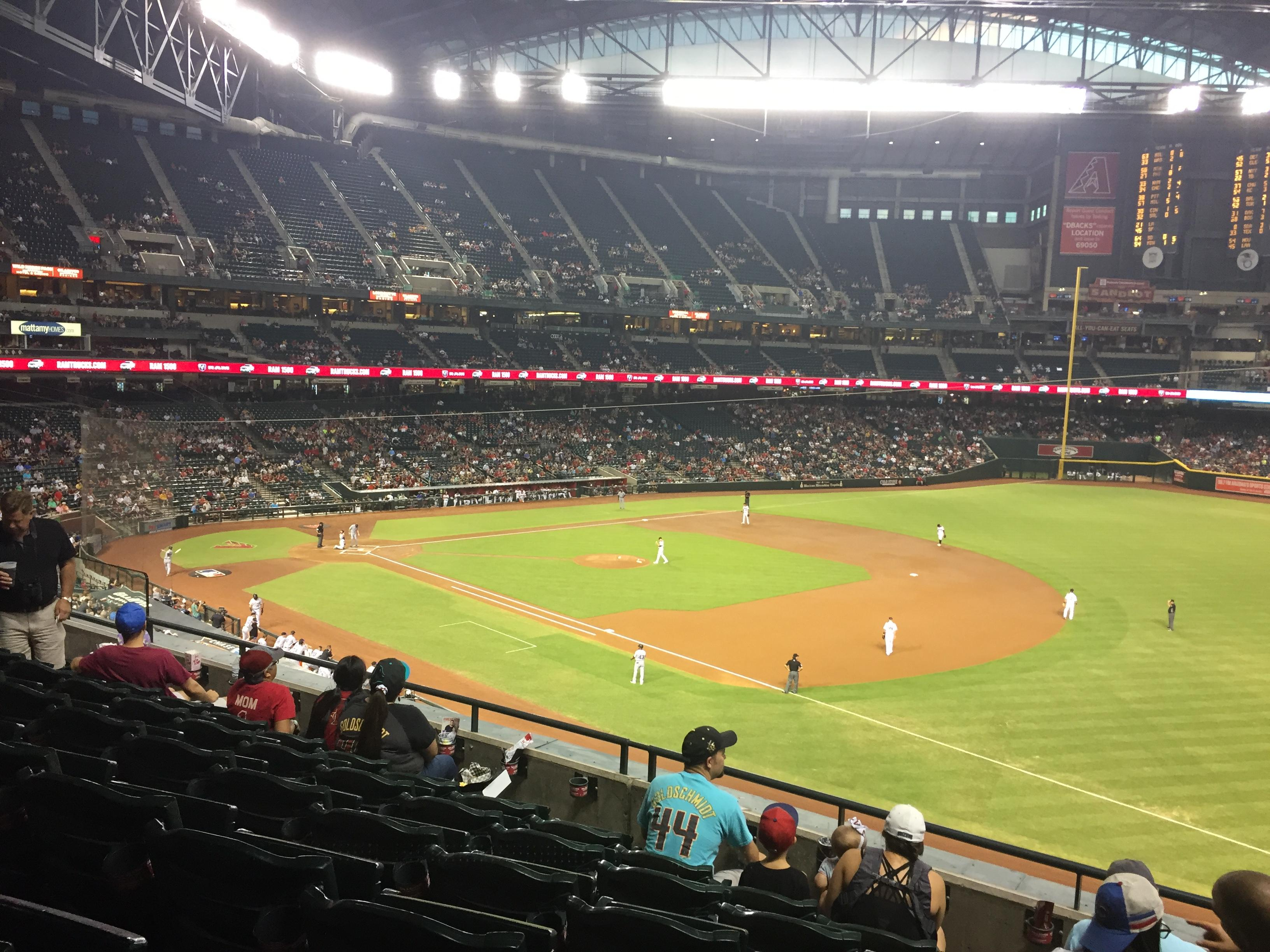 Chase Field in Phoenix