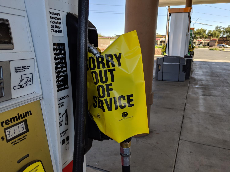 circle k gas pump