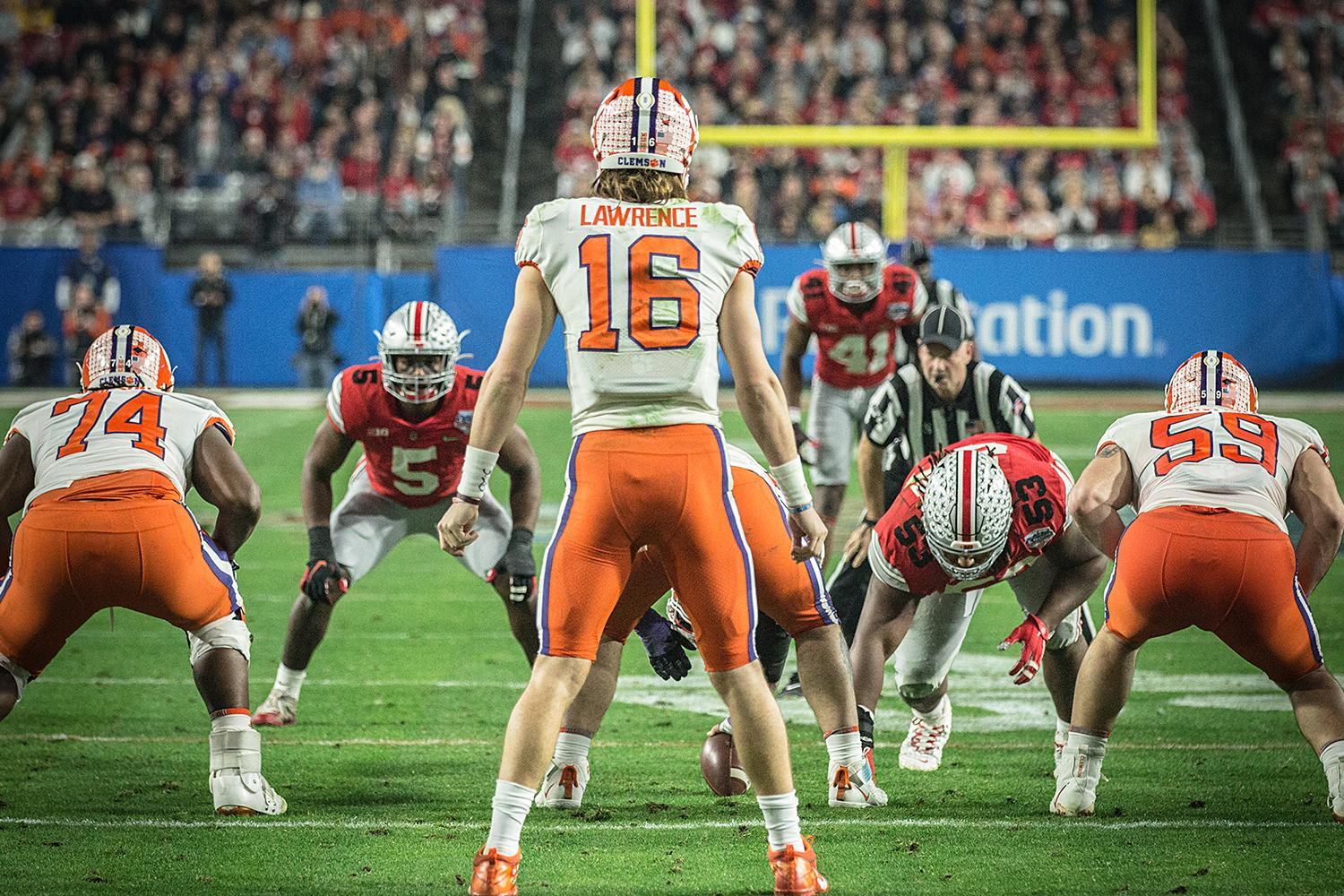 Trevor Lawrence Clemson Football Fiesta Bowl Ohio State