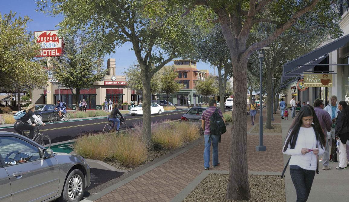 street rendering