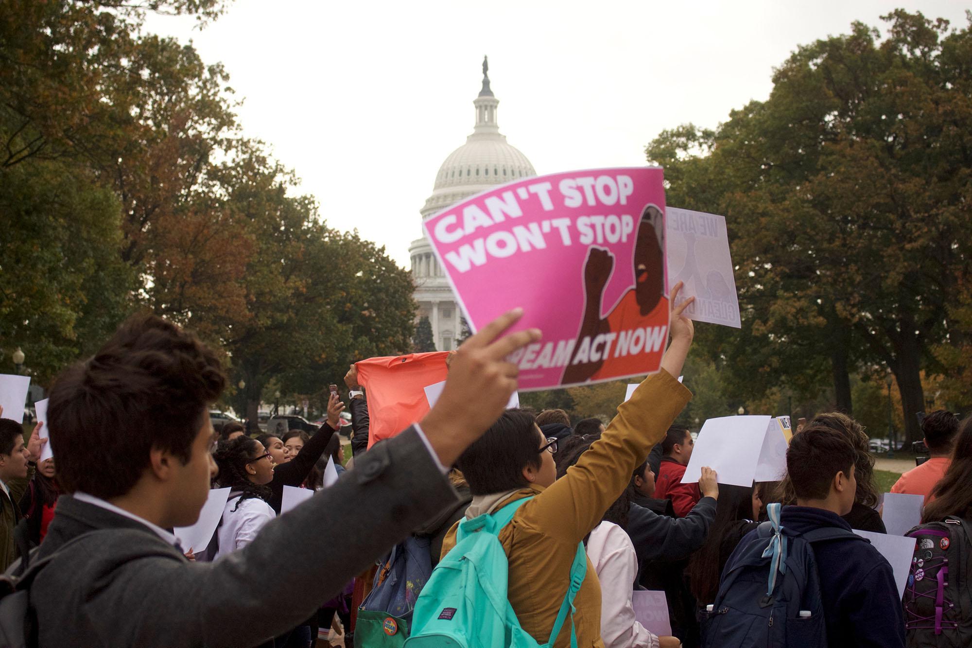 DACA protest U.S. Capitol