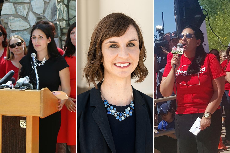 Dawn Penich-Thacker, Kathy Hoffman and Marisol Garcia