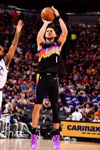 Devin Booker Phoenix Suns Round 2 jump shot