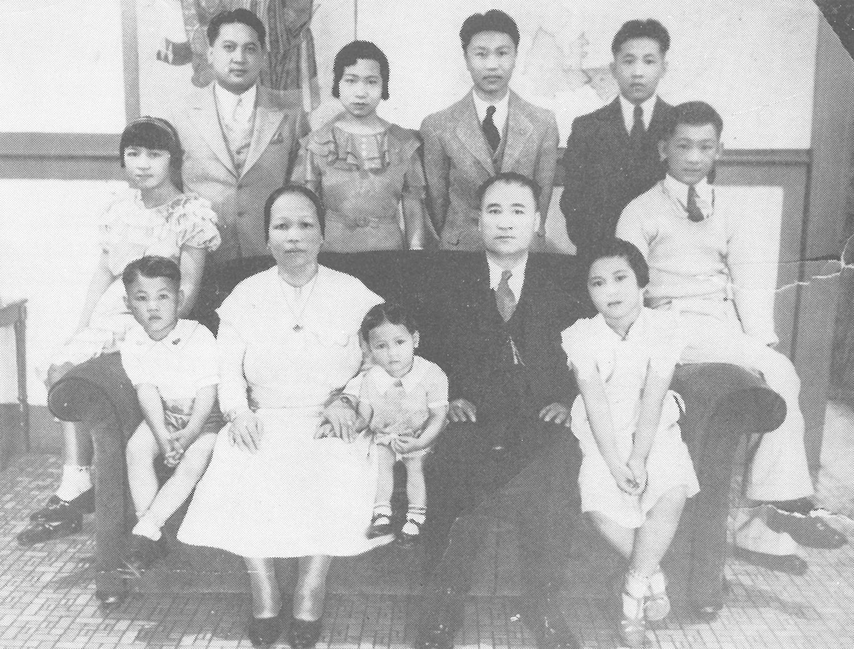 Dew Yu Wong family