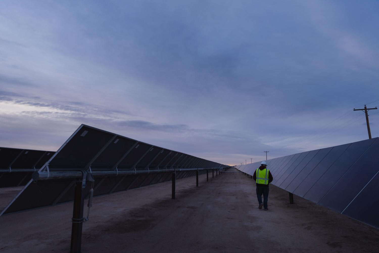 SRP solar plant