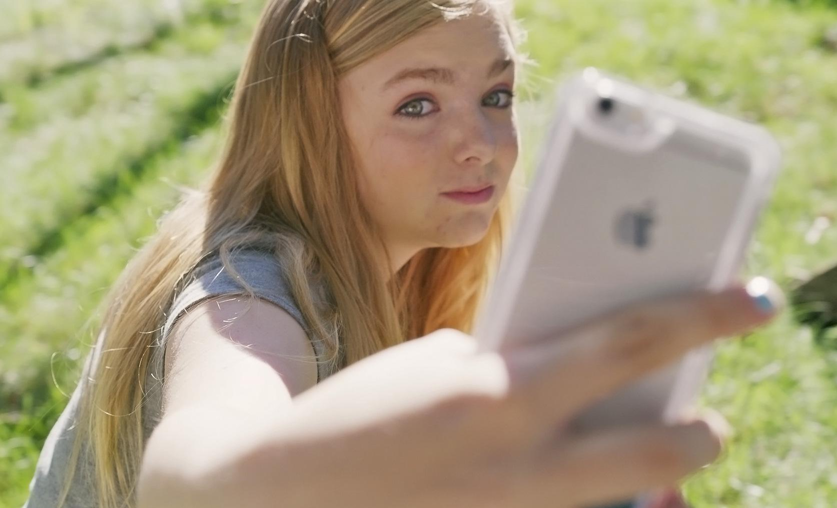 Elsie Fisher as Kayla in Bo Burnham