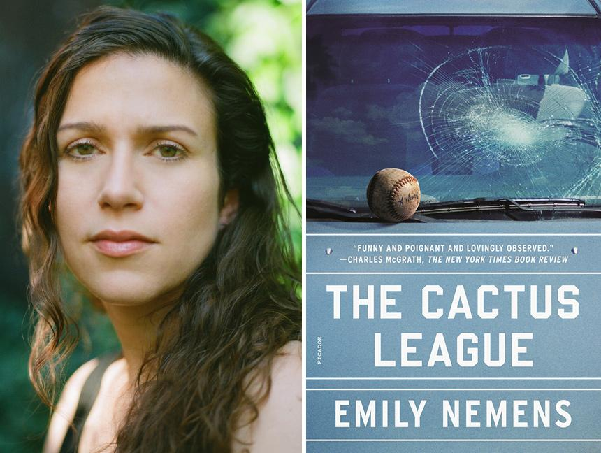 Emily Nemens and The Cactus League Novel paperback cover