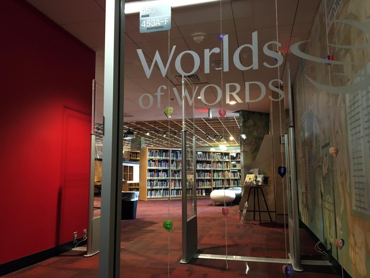 Worlds of Words entrance
