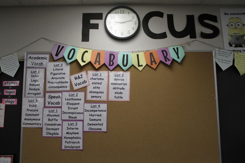 Coconino High School classroom