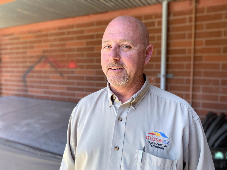 Bill McLeod is a City of Mesa Transportation Field Operations Supervisor