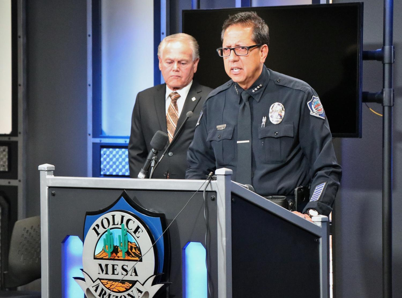 Mesa Police Chief Ramon Batista