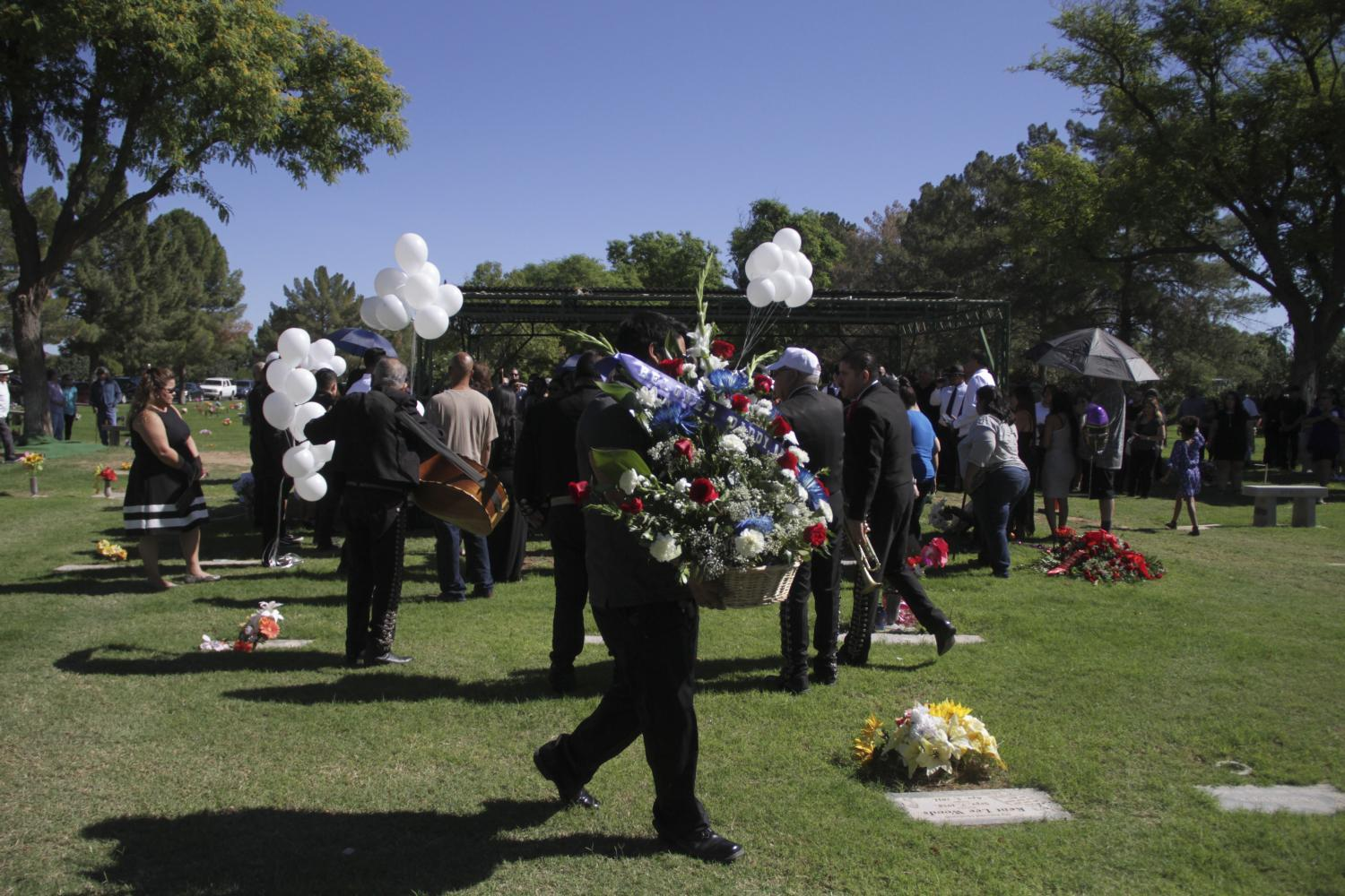 Tommy Chacon funeral