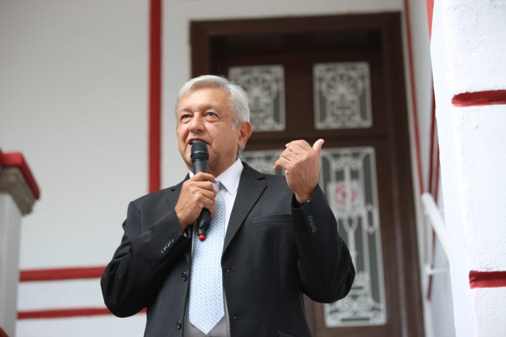 Mexican president-elect Andres Manuel Lopez Obrador