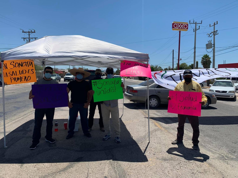 Sonoyta protesters