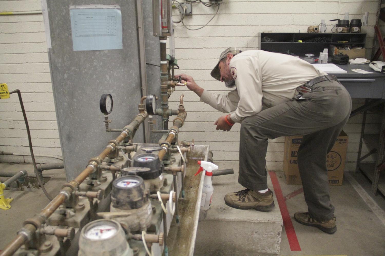 Phoenix water meter bench test