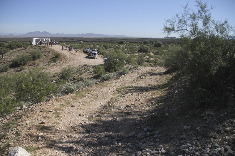 The Gila River Internment Camp