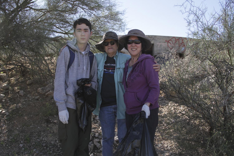 Nilson Wahl, Norma Yokota and Kathleen Wahl