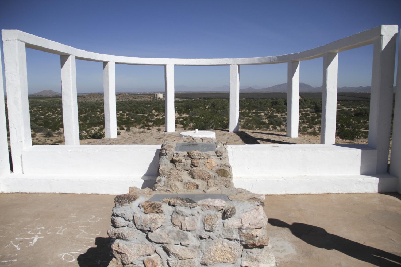 Gila River Internment Camp memorial to Japanese American veterans