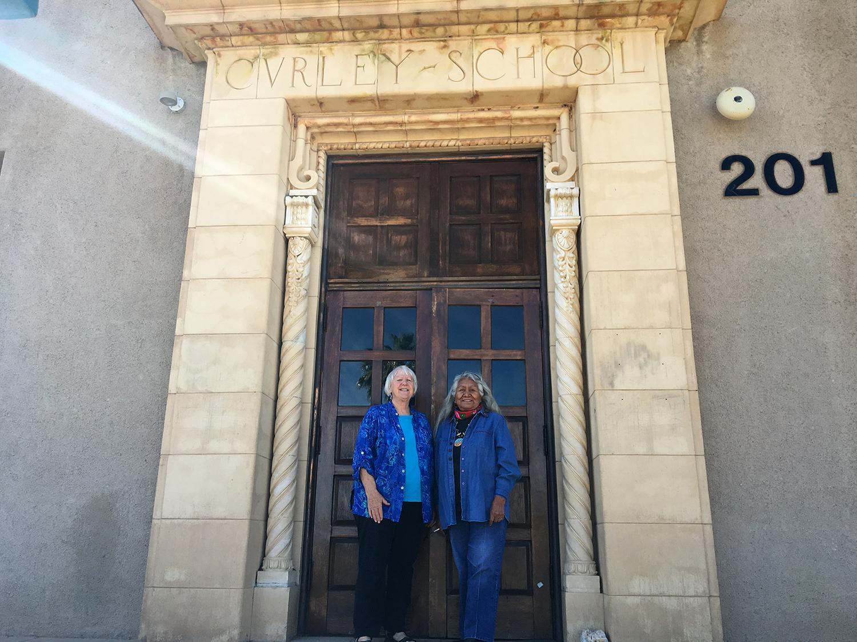 Lorraine Marquez Eiler (right) and Tracy Taft