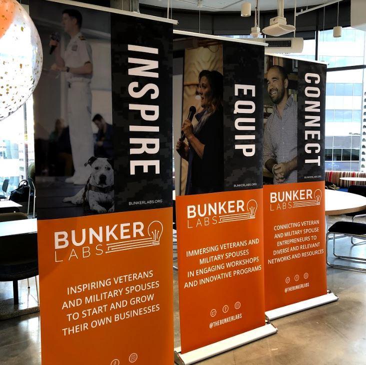 Bunker Labs serves as an incubator for veteran entrepreneurs.