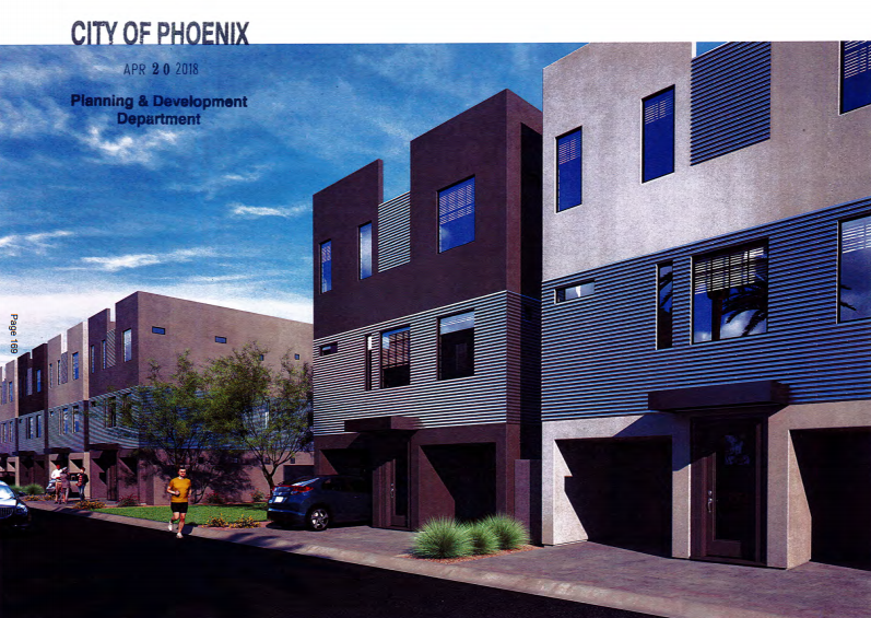 rendering for housing project in phoenix
